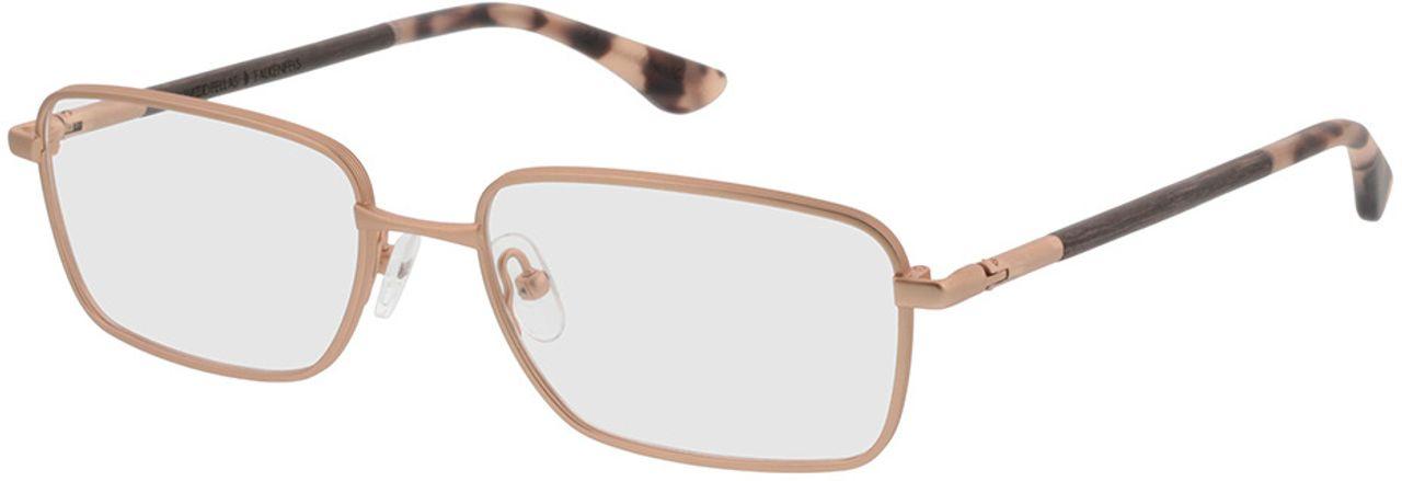 Picture of glasses model Wood Fellas Optical Falkenfels walnut 53-11 in angle 330