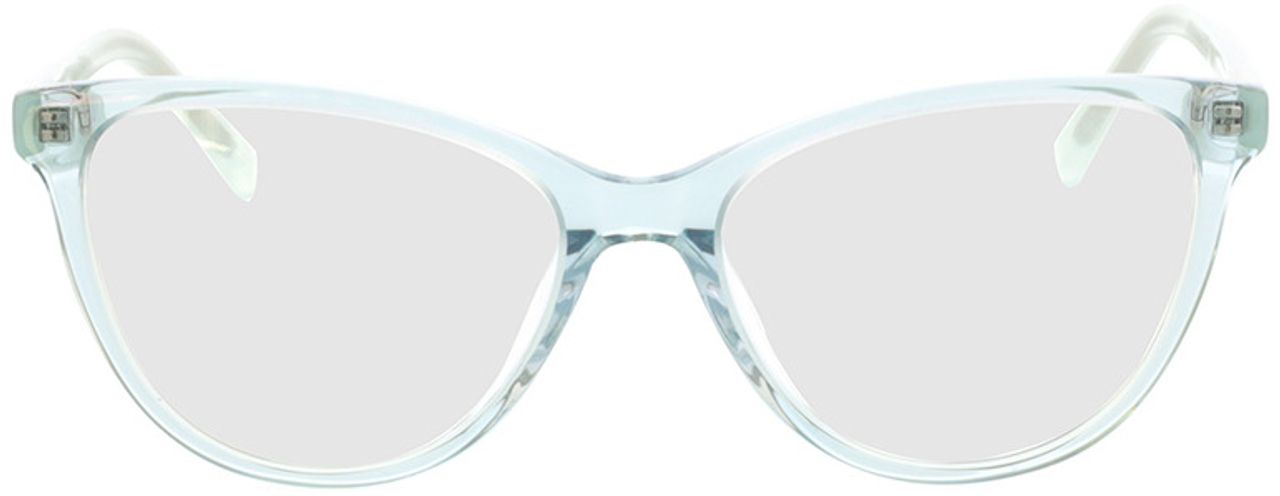 Picture of glasses model Alexia-türkis-transparent in angle 0