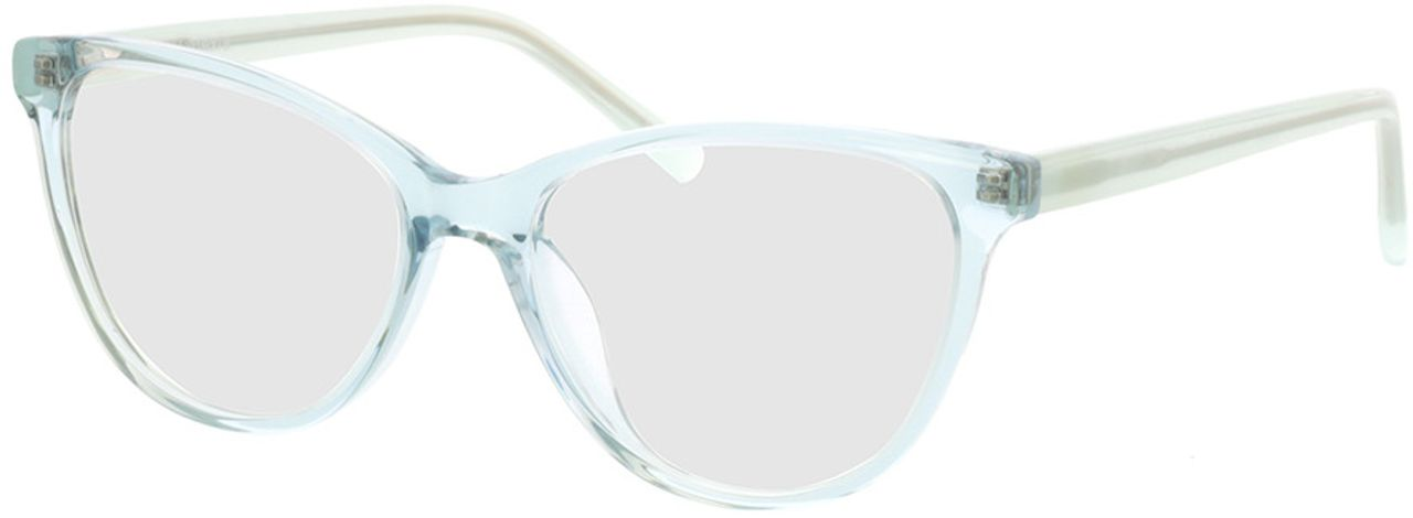 Picture of glasses model Alexia-türkis-transparent in angle 330