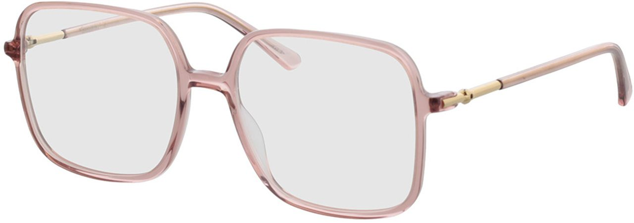 Picture of glasses model Donna-pink-transparent in angle 330