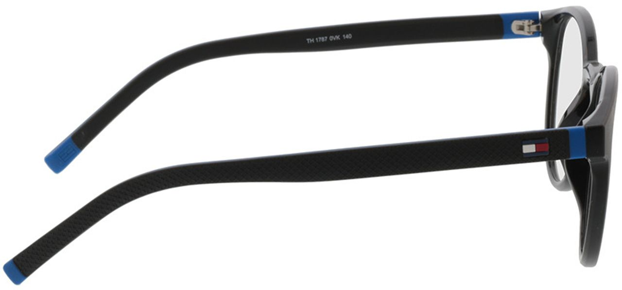 Picture of glasses model Tommy Hilfiger TH 1787 0VK 49-21 in angle 90