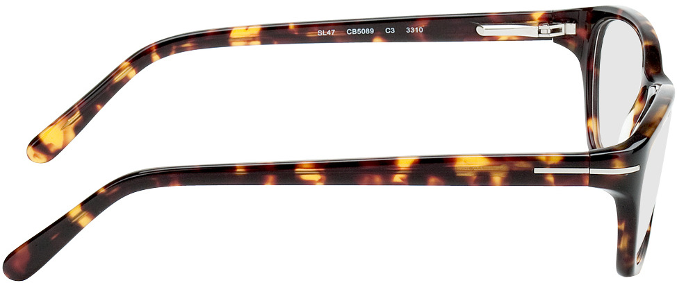 Picture of glasses model Tacna brown/mottled in angle 90