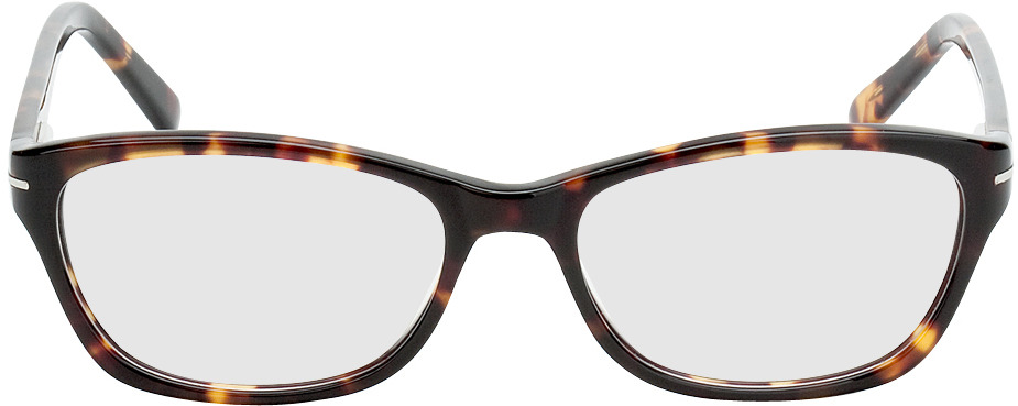Picture of glasses model Tacna brown/mottled in angle 0