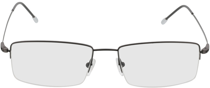 Picture of glasses model Kassel-schwarz in angle 0