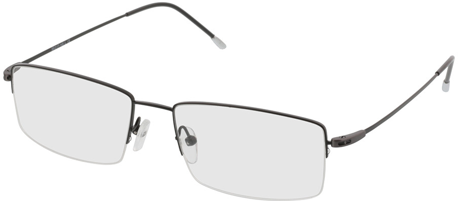 Picture of glasses model Kassel-schwarz in angle 330