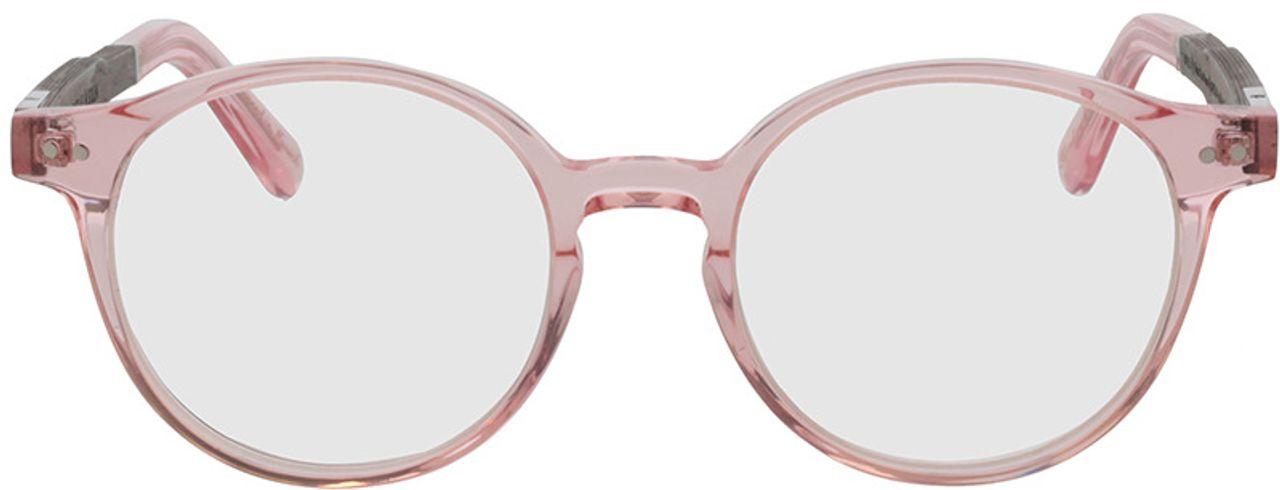 Picture of glasses model Wood Fellas Optical Solln Premium black oak/rose 49-19  in angle 0