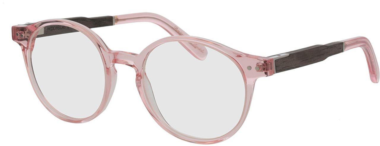 Picture of glasses model Wood Fellas Optical Solln Premium black oak/rose 49-19  in angle 330