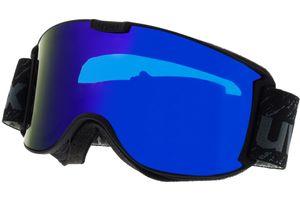 Skibrille Skyper LM Black Matt/Mirror Blue