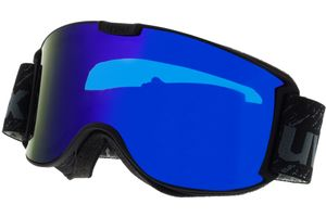Skibrille Skyper LM Black Matt/Mirror Blue