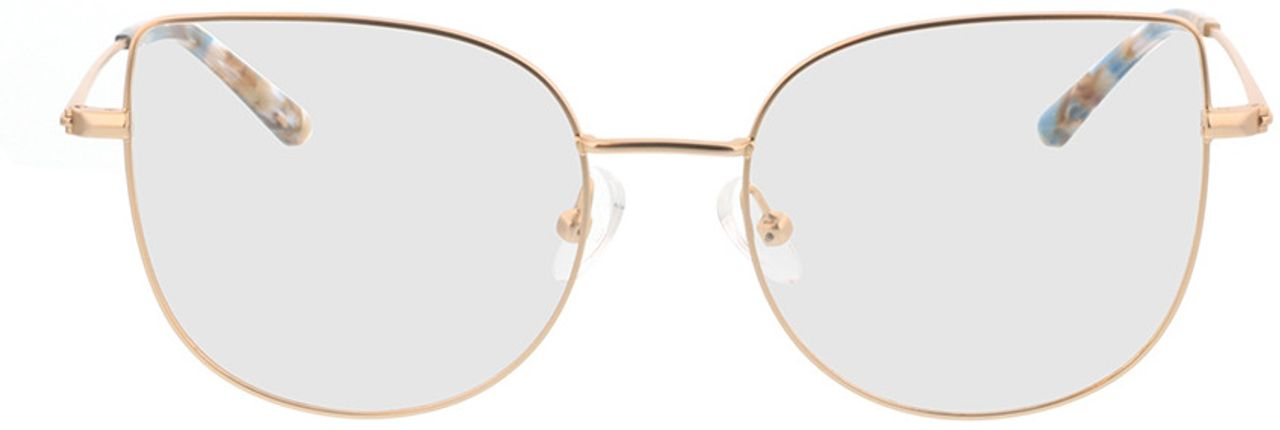 Picture of glasses model Cassis-gold in angle 0