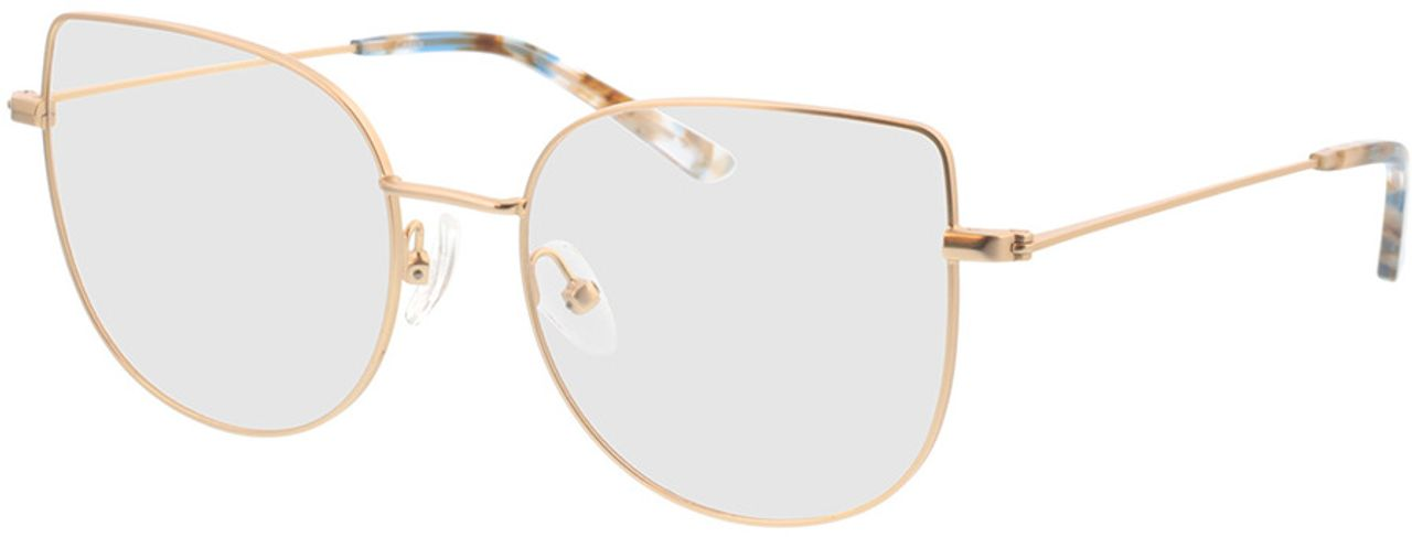 Picture of glasses model Cassis-gold in angle 330