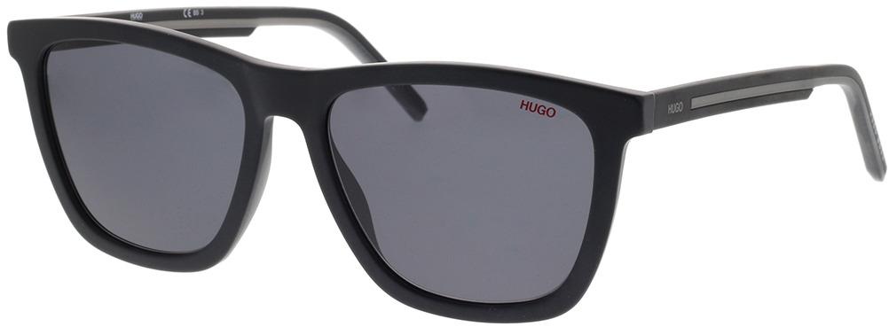 Picture of glasses model Hugo HG 1047/S 003 56-18 in angle 330