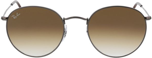 Picture of glasses model Ray-Ban Round Metal RB3447N 004/51 53-21  in angle 0