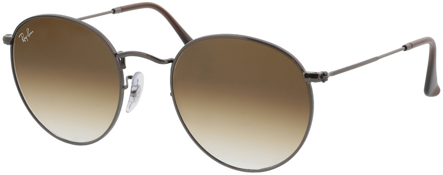 Picture of glasses model Ray-Ban Round Metal RB3447N 004/51 53-21 in angle 330