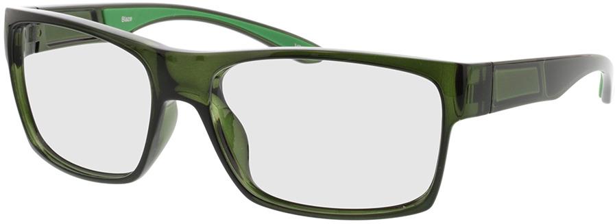 Picture of glasses model Blaze-transparent khaki/grün in angle 330