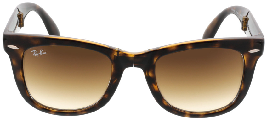Picture of glasses model Ray-Ban Folding Wayfarer RB4105 710/51 50-22 in angle 0