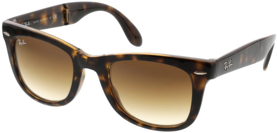 Picture of glasses model Ray-Ban Folding Wayfarer RB4105 710/51 50-22