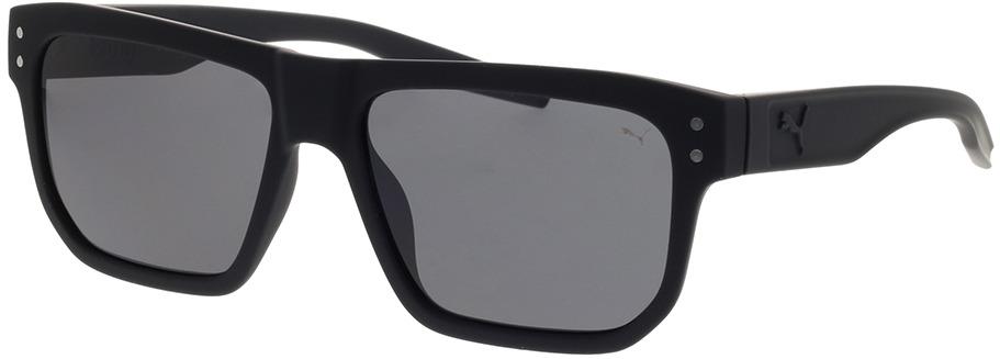 Picture of glasses model Puma PU0246S-001 55-16 in angle 330