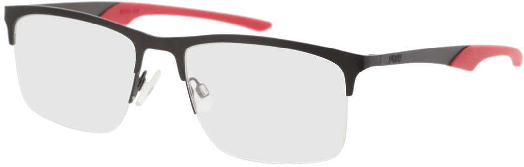 Picture of glasses model Puma PU0354O-003 57-19 in angle 330