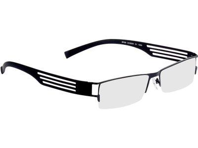 Brille Halmstad-schwarz