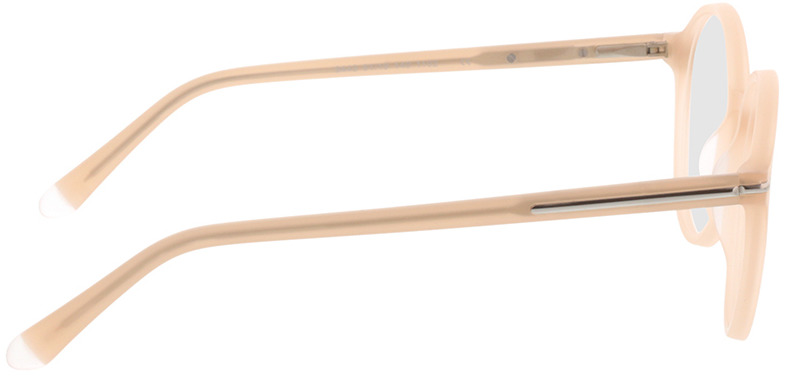 Picture of glasses model Borno mat champagner/mat zilver in angle 90