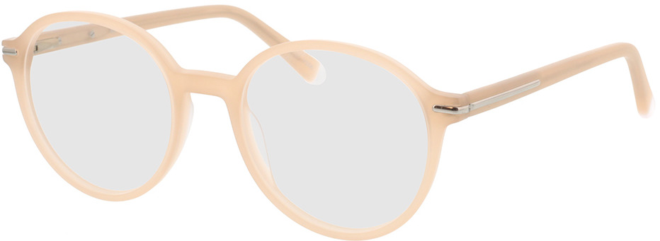 Picture of glasses model Borno mat champagner/mat zilver in angle 330