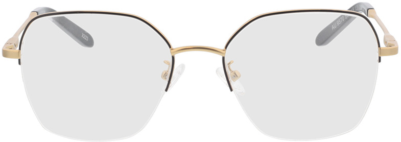 Picture of glasses model Electra-gold/schwarz in angle 0
