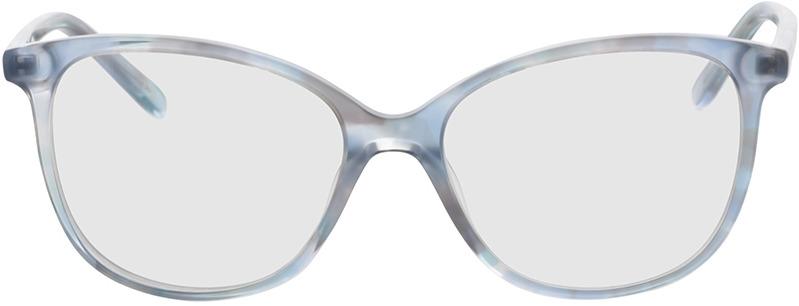 Picture of glasses model Alice-blau in angle 0