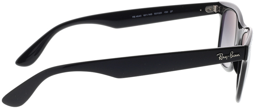 Picture of glasses model Ray-Ban RB4640 601/M3 50-20 in angle 90