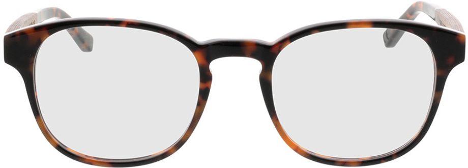 Picture of glasses model TAKE A SHOT Tali Hazelnut RX: Walnussholz 50-22 in angle 0