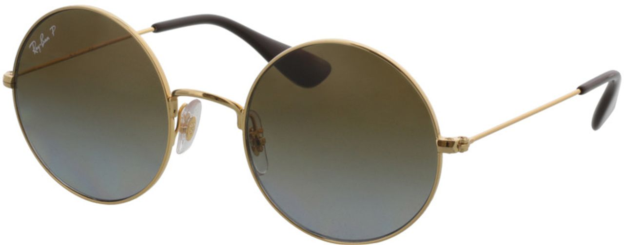 Picture of glasses model Ray-Ban Ja-Jo RB3592 001/T5 50-20 in angle 330