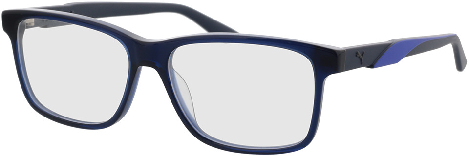 Picture of glasses model Puma PU0341O-002 in angle 330