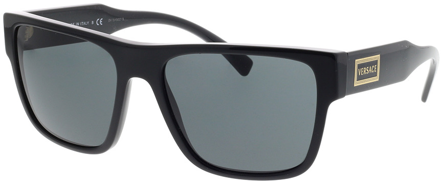 Picture of glasses model Versace VE4379 GB1/87 56-17 in angle 330