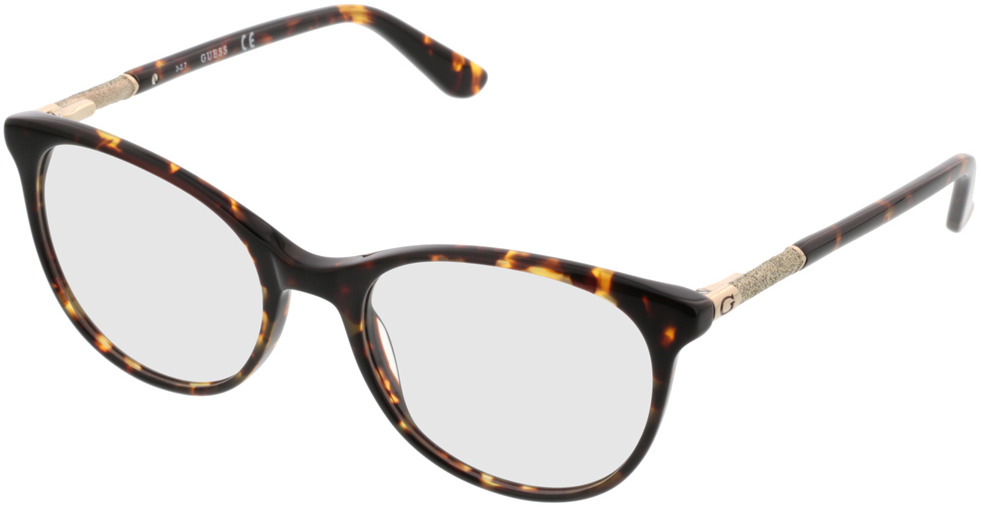 Picture of glasses model Guess GU2657/V 052 52-18 in angle 330