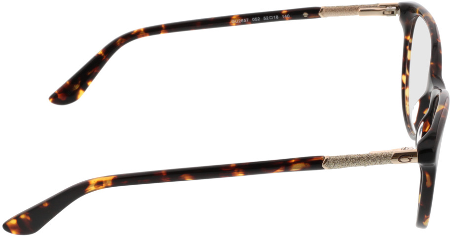 Picture of glasses model Guess GU2657/V 052 52-18 in angle 90
