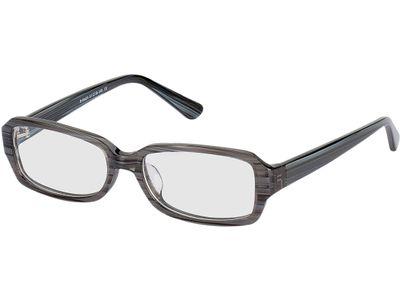 Brille Calvia-grau gestreift