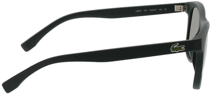 Picture of glasses model Lacoste L884S 315 53-19 in angle 90