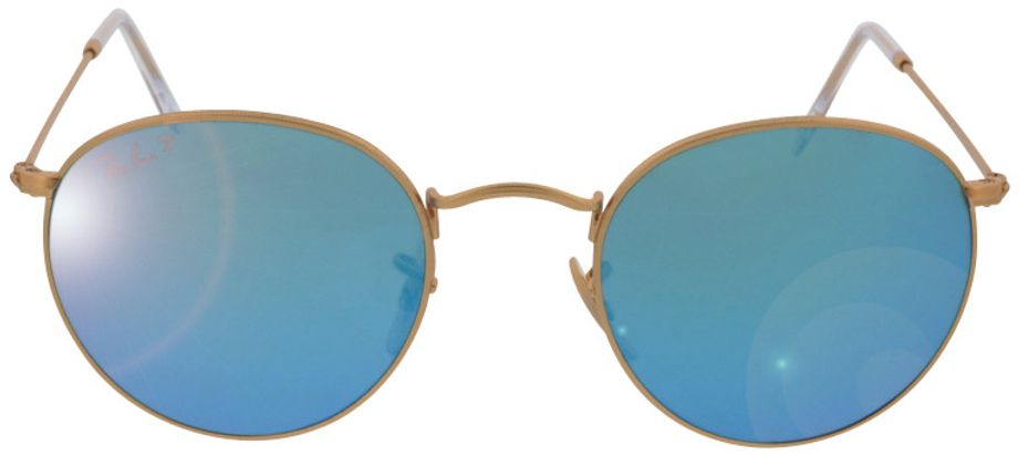 Picture of glasses model Ray-Ban Round Metal RB3447 112/4L 50-21 in angle 0
