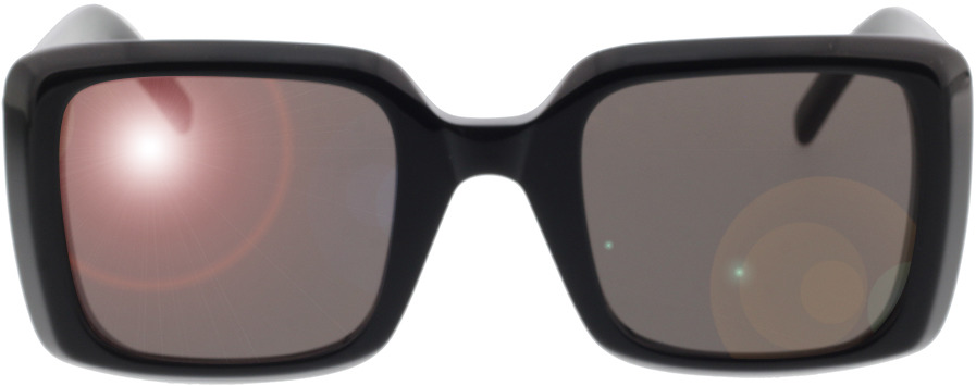Picture of glasses model Saint Laurent SL 497-001 51-25 in angle 0