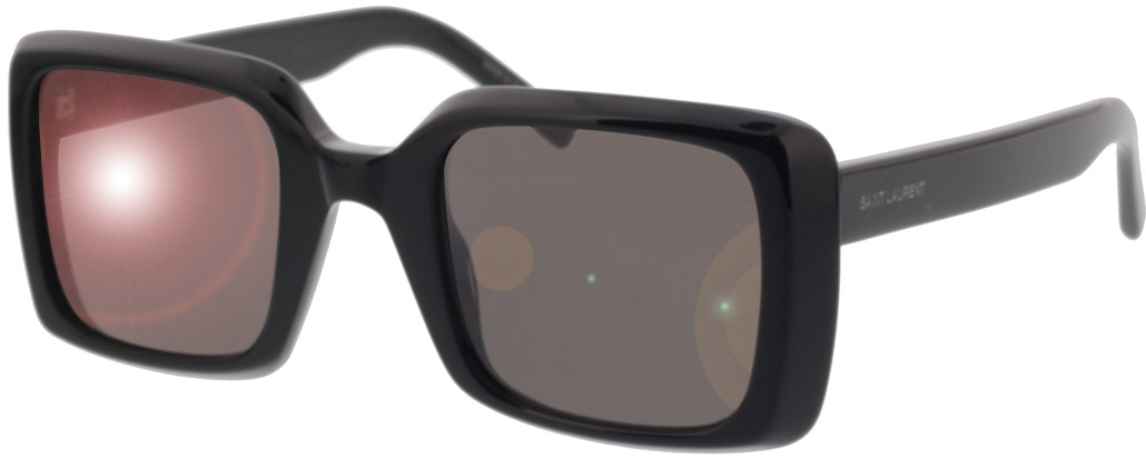 Picture of glasses model Saint Laurent SL 497-001 51-25 in angle 330