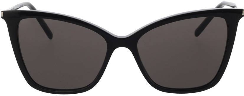 Picture of glasses model Saint Laurent SL 384-001 55-16 in angle 0