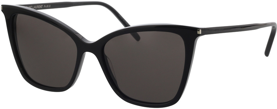 Picture of glasses model Saint Laurent SL 384-001 55-16 in angle 330