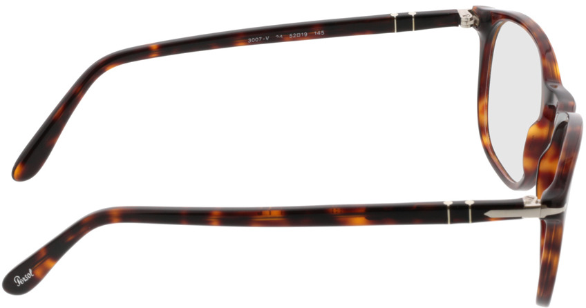 Picture of glasses model Persol PO3007V 24 52-19 in angle 90