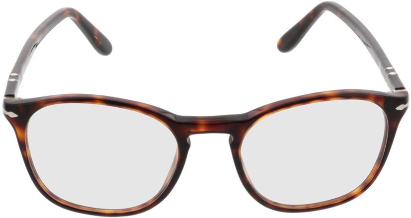 Picture of glasses model Persol PO3007V 24 52-19 in angle 0