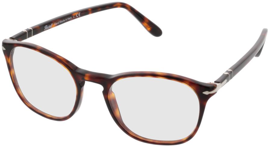 Picture of glasses model Persol PO3007V 24 52-19 in angle 330
