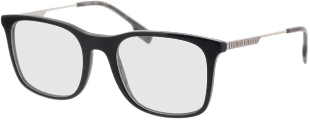 Picture of glasses model Burberry BE2343 3001 53-20 in angle 330