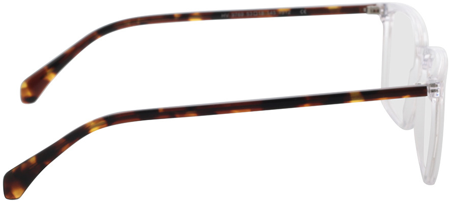 Picture of glasses model Jaco-transparent in angle 90