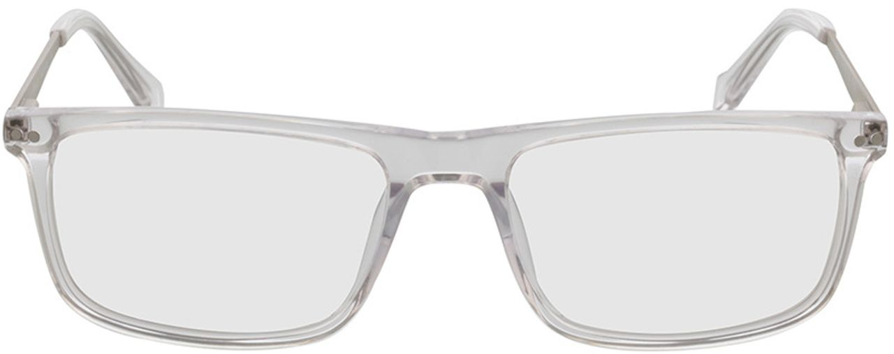 Picture of glasses model Inglewood-transparent-silver in angle 0