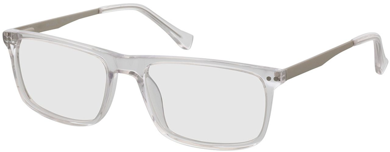 Picture of glasses model Inglewood-transparent-silver in angle 330