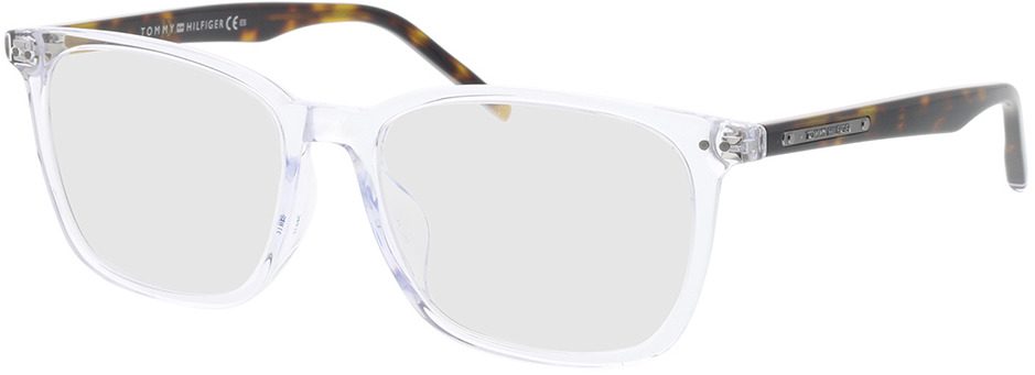 Picture of glasses model Tommy Hilfiger TH 1737/F AIO 54-17 in angle 330